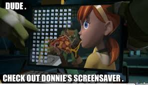 donatello s screensaver by thisistheremix meme center