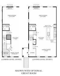 floor plans with great rooms avonlea reserve the bradbury home design