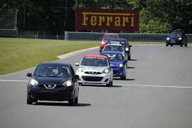 nissan canada victoria bc xavier coupal and kevin king claim victory in the nissan micra cup