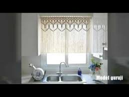 macrame curtains for kitchen youtube