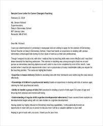 covering letter career change 11051