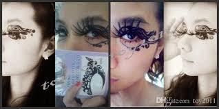 2016 lace eye shadow sticker eye makeup artistic eye mask
