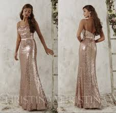 rose gold bridesmaid dresses long dresses for wedding guests