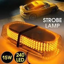 use of amber lights on vehicles bar emergency vehicle lights 240 led light for hazard warning amber