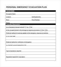 Evacuation Floor Plan Template Sample Evacuation Plan Template 9 Free Documents In Pdf Word