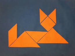 chinese new year tangrams choices for children