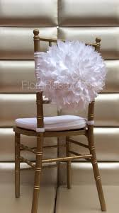 wedding chair covers wholesale 2018 wholesale white ivory 3d flower chair sash 2016 in stock