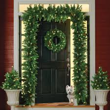 outdoor lighted garland home design ideas and pictures