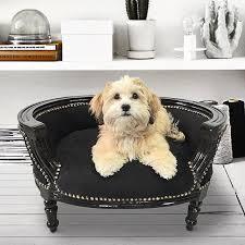 canap pour petit chien pas cher canapés lit pour votre chien et de style baroque royal