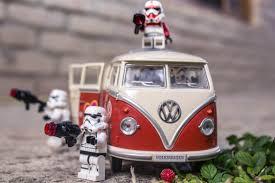 volkswagen lego stormtrooper lego stormtroops volkswagen van nature star wars