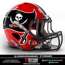 Raiders American Flag Artist Redesigns Nfl Helmets
