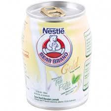 Teh Putih brand gold teh putih kaleng 140ml kirim belanja