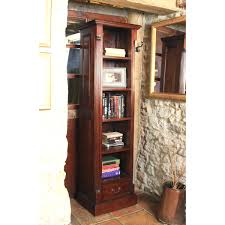 Tall Narrow Shelves by Tall Narrow Bookcase Baumhaus La Roque Mahogany Bookcase Imr01c