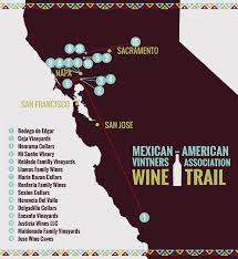 Wisconsin Winery Map by Salud To The Mexican American Wine Revolution At The