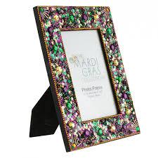mardi gras frame 4 x 6 mardi gras jeweled photo frame purple 19 103