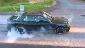 mercedes 190e 3 2 amg mercedes 190e 2 3 16v burn out