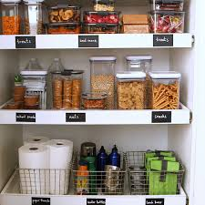 how to store food in a cupboard how to organize a kid friendly pantry martha stewart