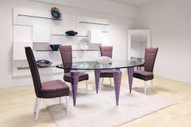 beautiful glass oval dining room table contemporary home design
