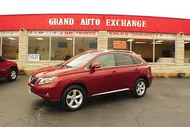 red lexus 2010 lexus rx350 awd red 4x4 used suv sale