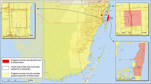 Zip Code Miami Map by Cdc U0027s New Miami Zika U0027red Zone U0027 Means Stay Out For Pregnant Women