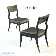 Christian Liaigre Armchair 3d Models Chair Christian Liaigre Jumping