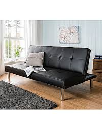Click Clack Sofa Bed by Sienna Faux Leather Click Clack Sofa Bed Oxendales