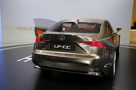 lexus is or bmw 3 lexus lf cc concept this is what an is coupe may look like