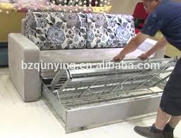 King Size Folding Bed Best Price King Size Slat Base Metal Structure Pull Out Sofa Bed