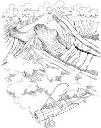 free printable coloring pages for adults landscapes free coloring pages for adults to print and color landscapes
