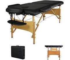 fold up massage table for sale sale portable massage table black spa folding massage beauty salon