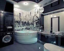 unique bathroom decorating ideas bathroom captivating unique bathroom decor with tile wall arts