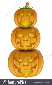 halloween carved pumpkin illustration