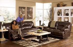 classic living room furniture classic living room with 2 seater brown leather ashley furniture