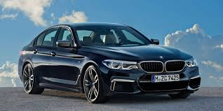 2018 bmw 5 series vehicles on display chicago auto show