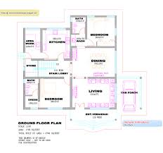 Floor Plan With Elevation by Villa Design Plans Mesmerizing Villa Plan And Elevation Of 2853 Sq