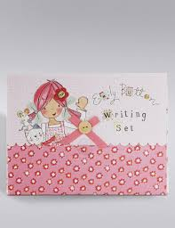present writing paper emily button writing set m s emily button writing set
