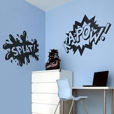 wall vinyl creditrestore us wall word stickers comic strip words vinyl wall stickers by oakdene designs