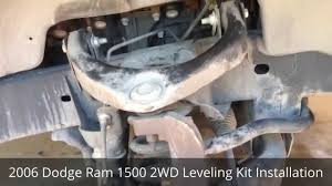 2012 dodge ram 2wd leveling kit 2006 dodge ram 1500 2wd leveling kit installation
