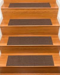 Laminate Flooring Stair Treads Halton Carpet Stair Treads Chocolate Set Of 13 Natural Home