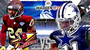 madden nfl 17 thanksgiving day match up redskins vs