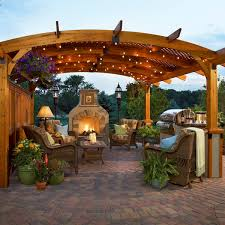 blogs the right lighting will turn a patio into a piazza