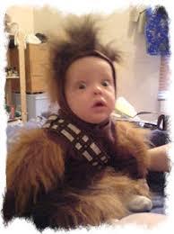 Wookie Halloween Costume Force Strong Star Wars Babies Leia Guff