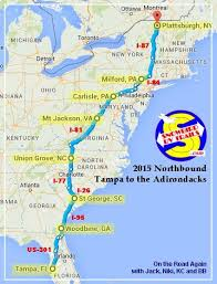 summary a popular snowbird rv route florida to upstate ny canada