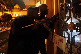 sushi shop siege kenya shopping mall attack up to 10 hostages still remain inside