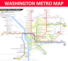 Metro Washington Map by Washington Dc Metro Map Lines Stations And Interchanges