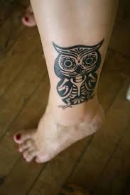 Small Tribal Cross - thigh small tribal cross tattoos design idea for and