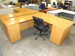 Used L Shaped Desk Used L Shaped Desk New Used Mayline Brand Realoffice Series L