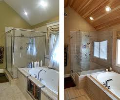 Bathroom Before And After Before And After Photos The Renovation Company