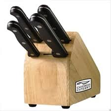 chicago cutlery essentials 5 piece knife block set for your chef