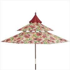 Floral Patio Umbrella Floral Patio Umbrella Fresh Pagoda 9 Wood Umbrella Pier 1
